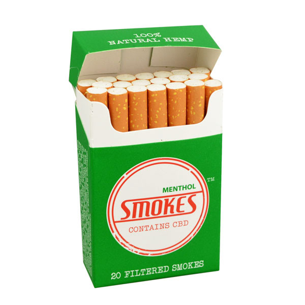 Smokes Hemp Cigarettes - Menthol | Wholesale
